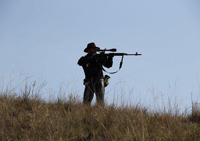 Un chasseur