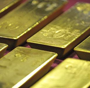 Des lingots d'or (image d'archives)