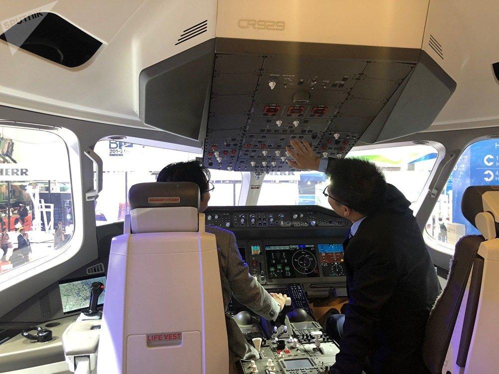 Le cockpit du CR929