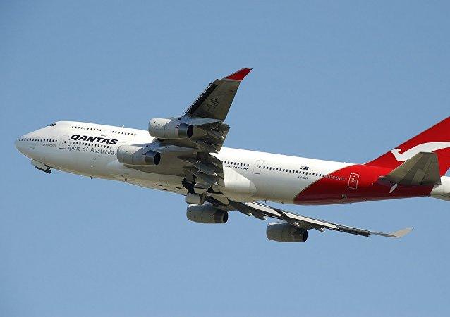 Un Boeing 747 de Qantas