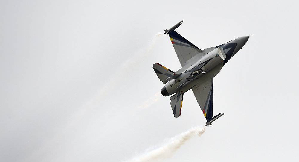 F-16 of Belgian Air Force