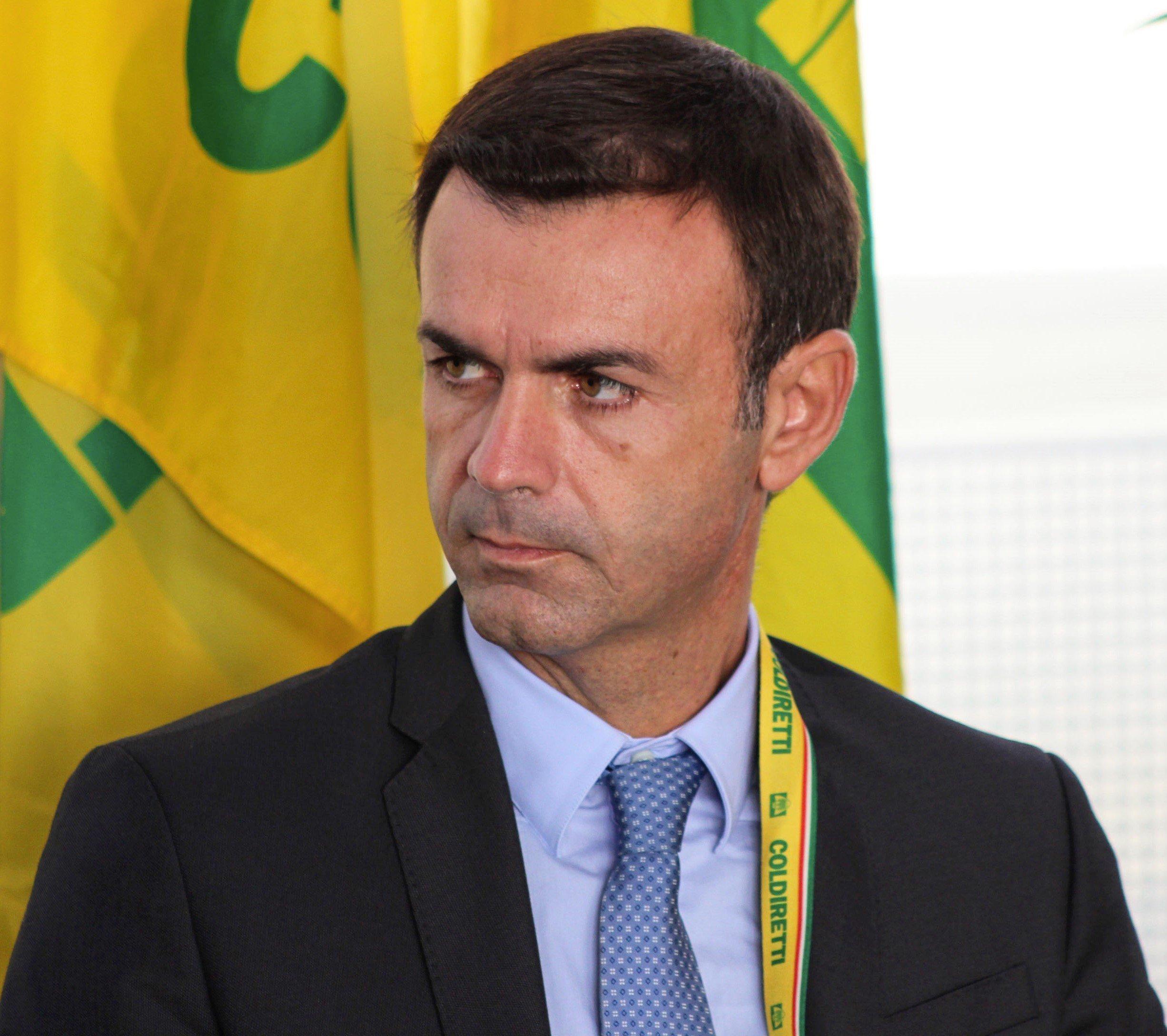 Ettore Prandini, président de Coldiretti, syndicat agricole d'Italie