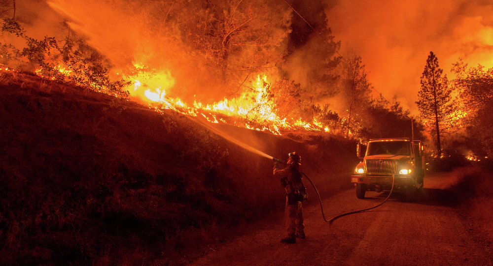 Incendie en Californie (archives)