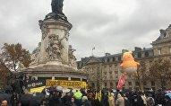 «Trump=guerre»: une manifestation anti-Trump a lieu à Paris