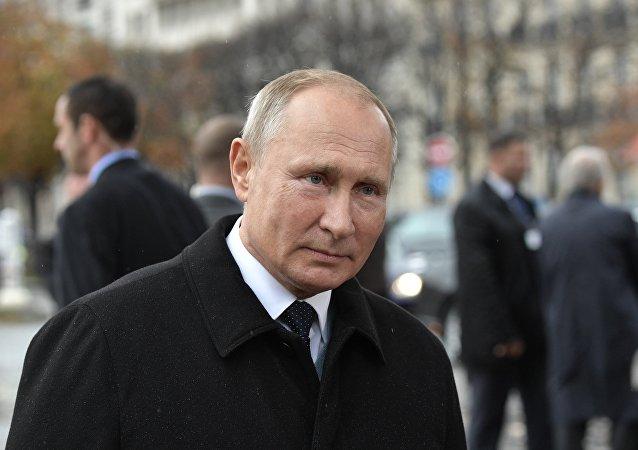 Vladimir Poutine à Paris
