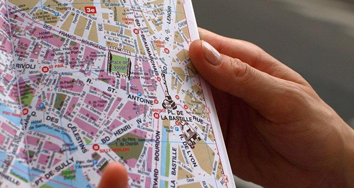 Un touriste à Paris