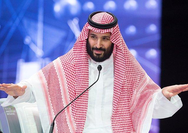 Le prince héritier d'Arabie saoudite Mohammed ben Salmane