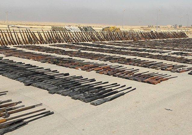 Armes  saisies en Syrie