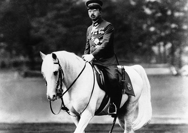 Empereur Hirohito en 1940
