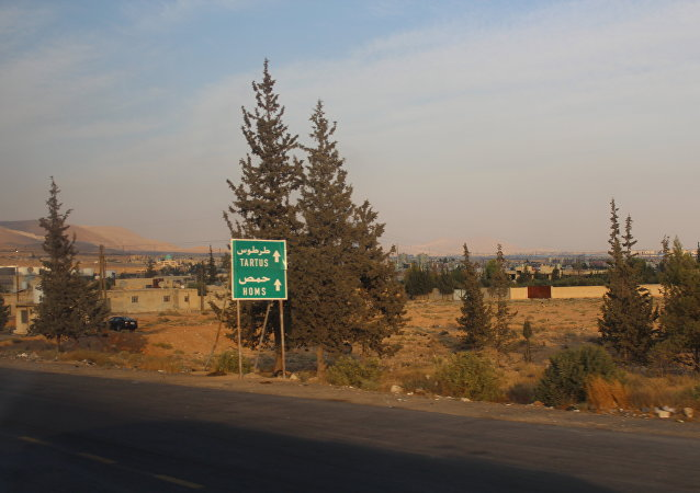 Route vers Homs
