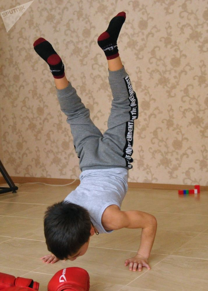Un recordman tchétchène de cinq ans