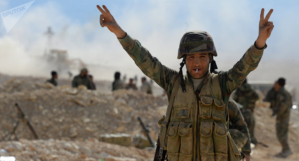 Militaire syrien