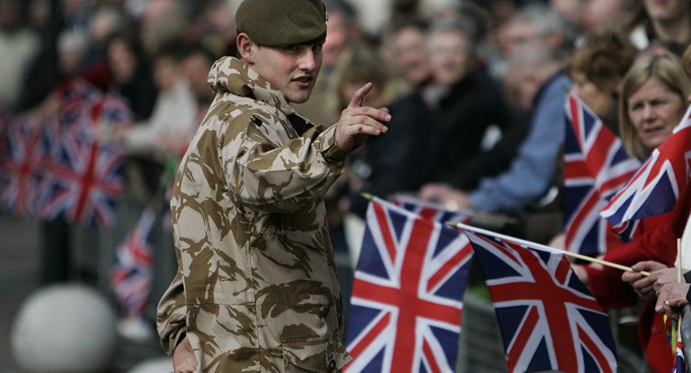 un soldat britannique (image d'illustration)