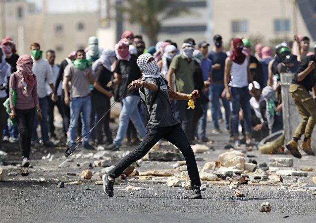 Les manifestations à Ramallah