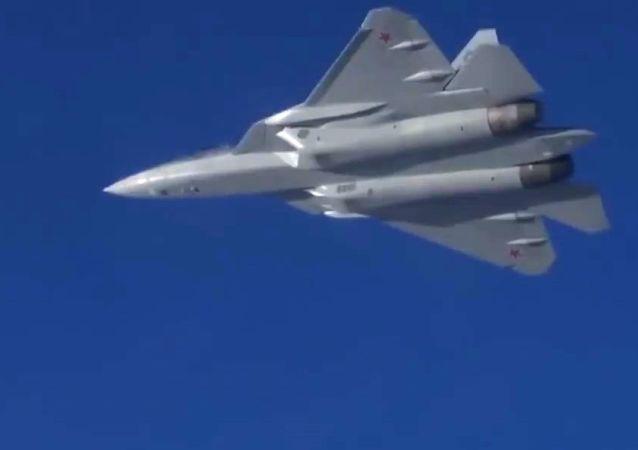 Les vols des chasseurs Su-57 en Syrie