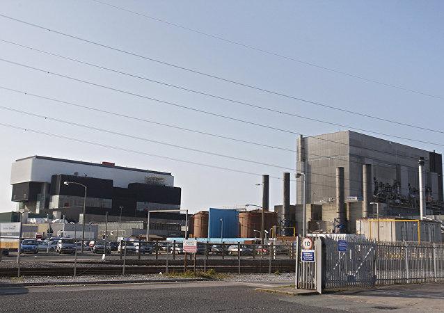 Centrale nucléaire de Heysham en Grande-Bretagne