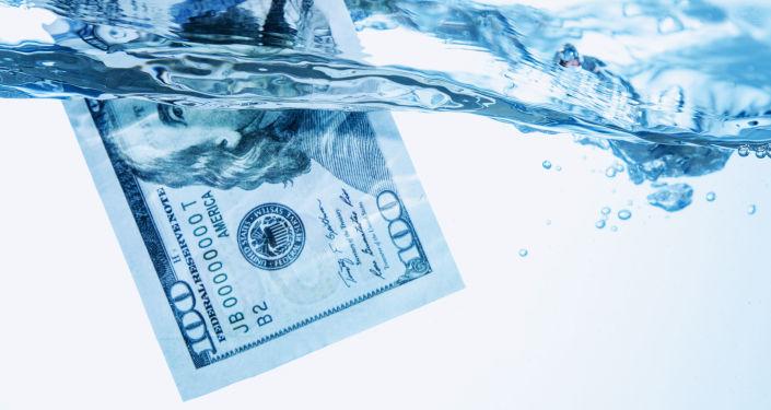 Dollars américains. Image d'illustration