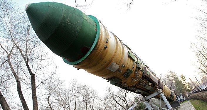 Missile balistique intercontinental RS-20 Voevoda