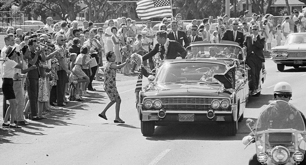 Le cortège du Président John Kennedy à Honolulu (archive photo)