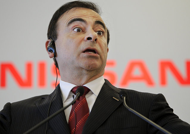 Nissan Motor Co. Chief Executive Carlos Ghosn