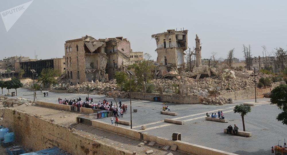 Alep en octobre 2018