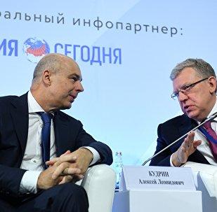 Anton Silouanov et Alexeï Koudrine, l'ancien et l'actuel Ministres des Finances