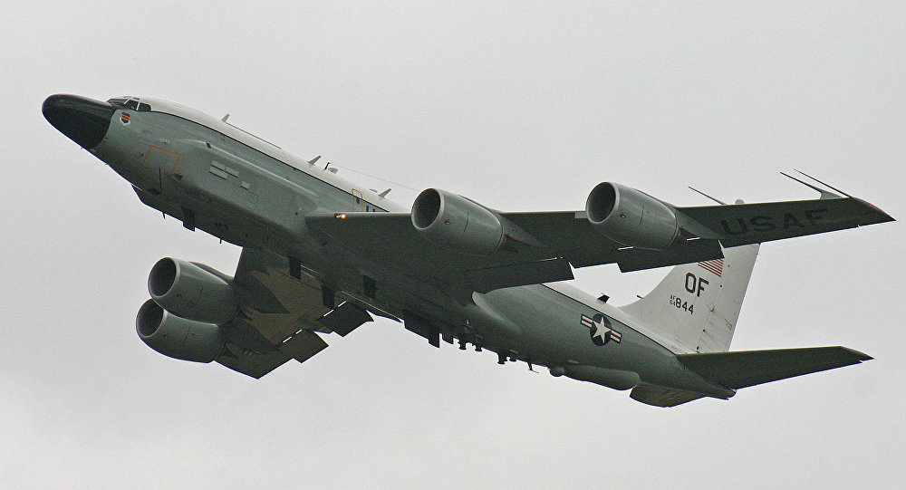 Un Boeing RC-135V, image d'illustration
