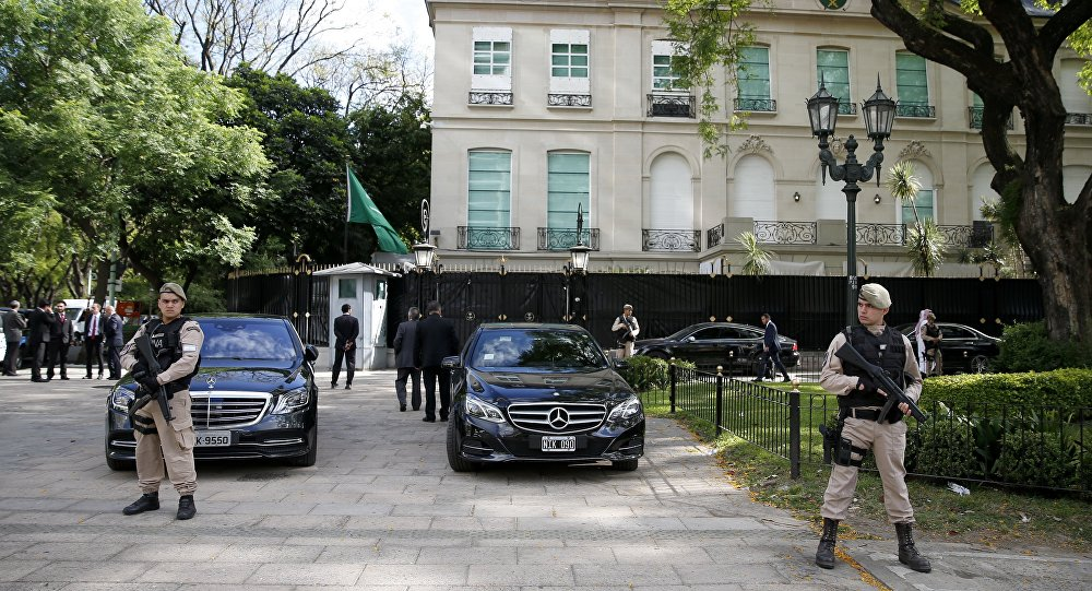 Le sommet du G20, Argentine