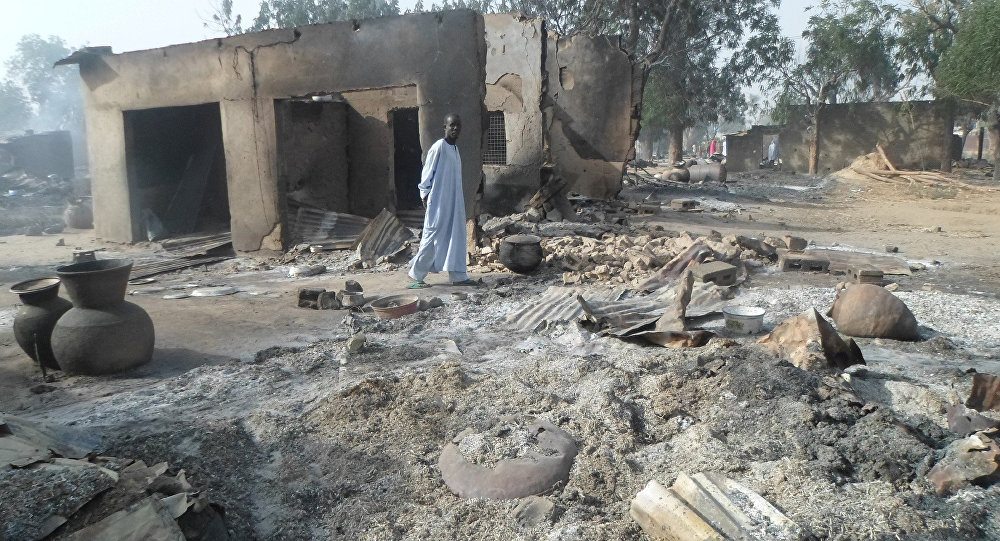 Un village nigérian attaqué par Boko Haram (archive photo)