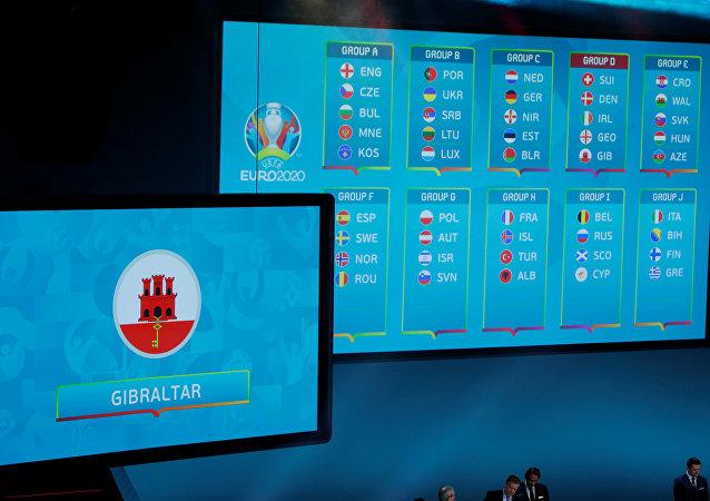 le tirage au sort pour les qualifications de l'Euro 2020