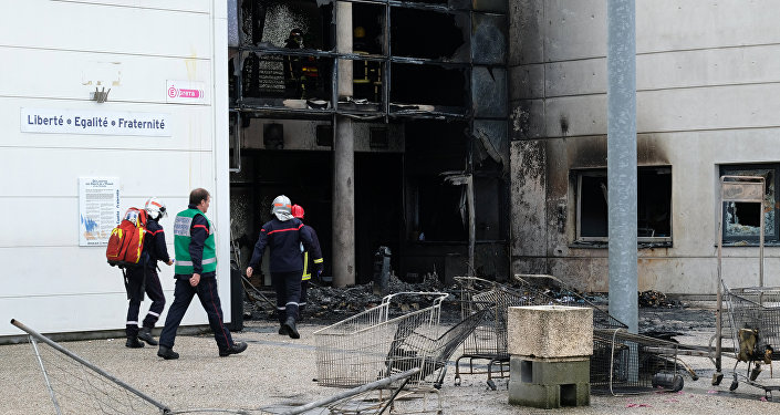 Mouvement lycéen: un établissement près de Toulouse partiellement incendié