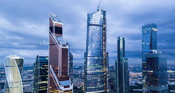 quartier d'affaires Moscow-City (image d'illustration)