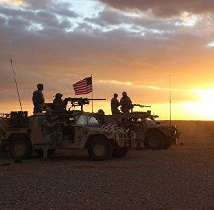 Troupes US en Syrie