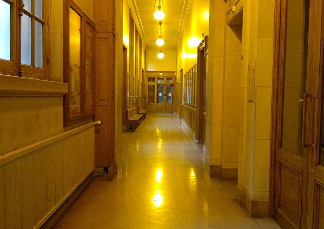 Un couloir