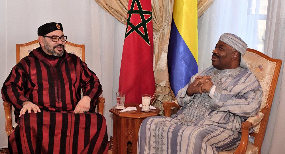 Ali Bongo Ondimba et Mohamed VI