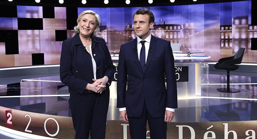 Macron cherche à avoir Marine Le Pen en tant qu'unique adversaire, estime Bellamy