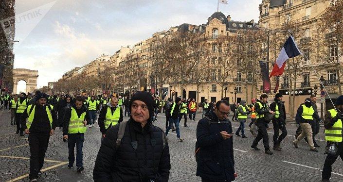 Manifestation des Gilets jaunes le 8 décembre 2018