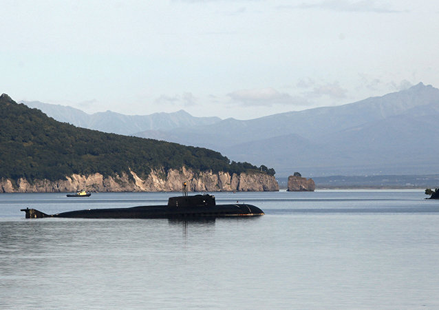 Un sous-marin du projet 949A