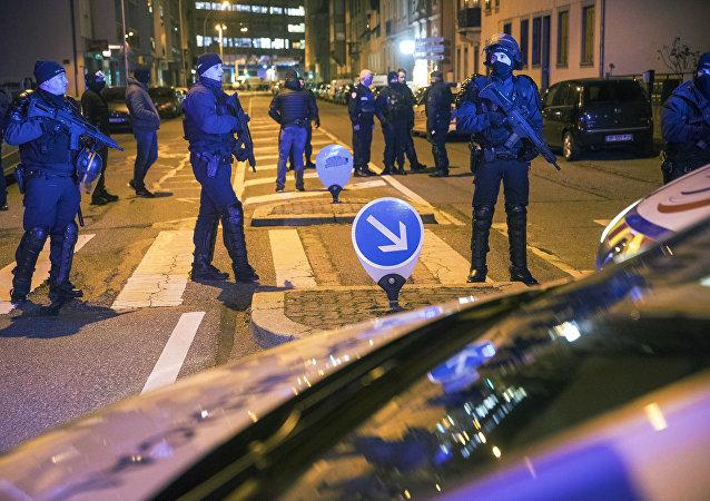La police dans le quartier du Neudorf, à Strasbourg