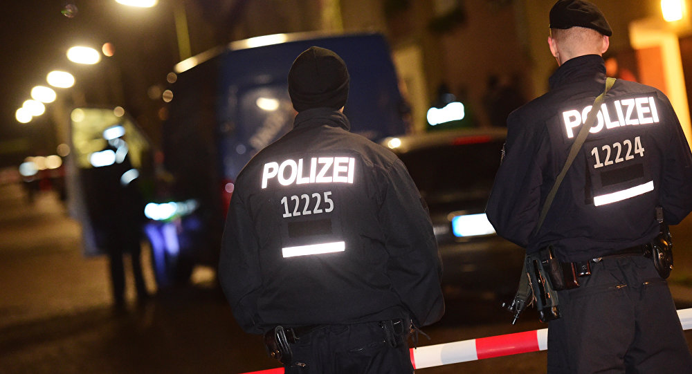 la police allemande