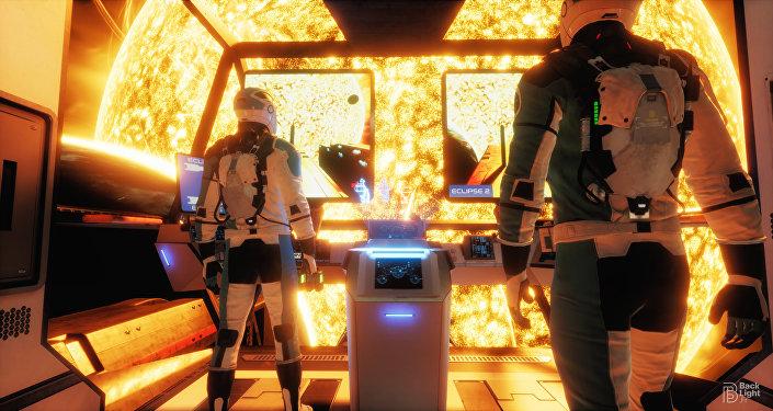 Eclipse : jeu en VR développé par le studio français Backlight