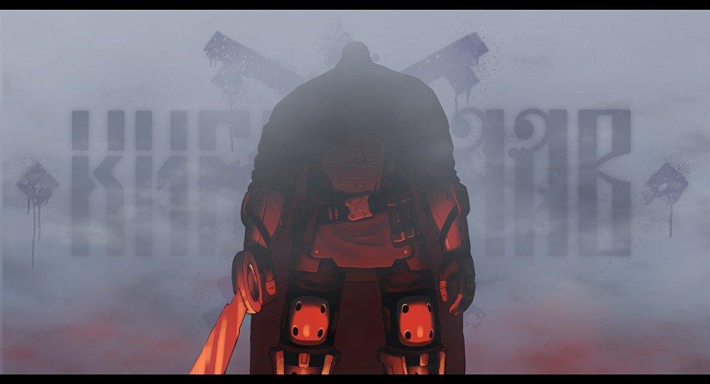 Cyberslav - Anime développé par le studio russe Evil Pirate