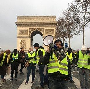 L'acte 5 des Gilets jaunes sous haute surveillance à Paris, 15 décembre 2018