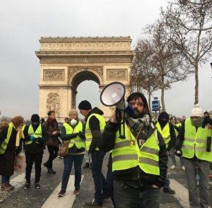 Acte 5 des Gilets jaunes à Paris, le 15 décembre 2018
