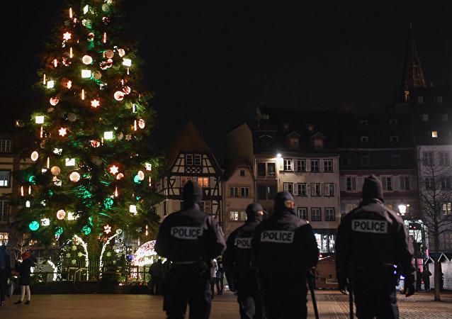 Strasbourg après l'attaque du 11 décembre 2018 (image d'illustration)