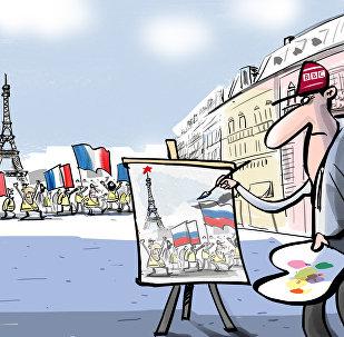 Quand la BBC veut à tout prix trouver une piste russe dans le mouvement des Gilets jaunes