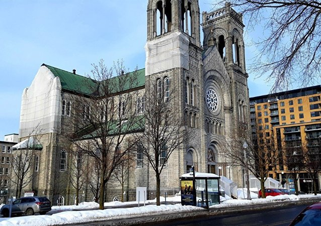 L'église du Très-Saint-Sacrement, à Québec