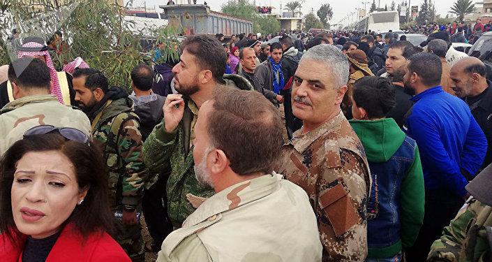 Célébration à Deraa