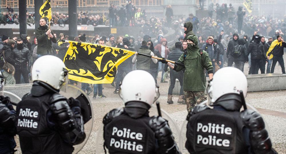 Démonstrations en Belgique