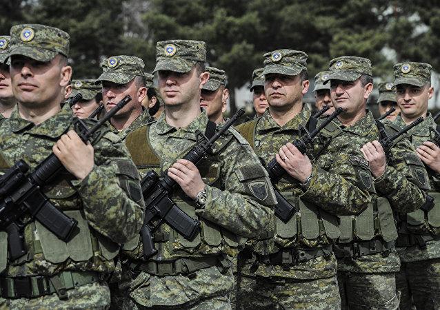Kosovo, Forces de sécurité (KSF)